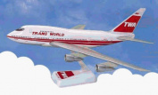 Daron LP7510 B747SP TWA - Original Red Stripe