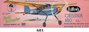 Cessna 180 - Flying Model Kit - 20 Wing Span - Guillow's