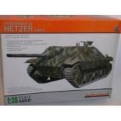Eduard German WW II Jagdpanzer 38 Hetzer Tank (Early)--Plastic Model Kit