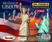 The Statue of Liberty 3D Woodcraft Construction Kit, Small