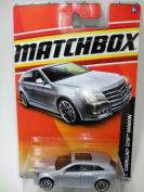 2011 Matchbox #37 VIP Cadillac CTS Waggon Silver