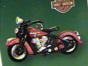 1948 panhead miniature harley davidson motorcycle