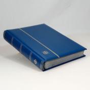 Lighthouse 64-Black Page Stamp Stockbook LSP4/32 Blue