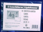 10 Lighthouse Approval Cards 1-Strip Clear Backing MK1C