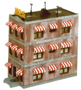 Life-Like Trains  HO Scale Building Kits - Belvedere Downtown Hotel