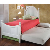 Westfield Bed w/ Roll-Out Trundle and Suspension Deck - Twin