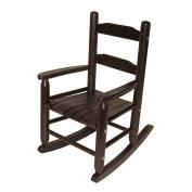 Lipper International 555E Child's Rocking Chair, Espresso
