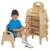 Jonti-Craft Home Indoor Kids Toddler Playschool Kindergarten Chairries - 13cm Height