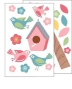 Bird House Wall Decal Stickers