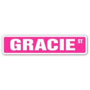 GRACIE Street Sign name kids childrens room door bedroom girls boys gift