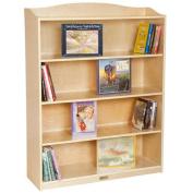 Guidecraft G6476 5 Rack Bookshelf, UV Finish
