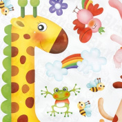Fun Zoo - Wall Decals Stickers Appliques Home Decor