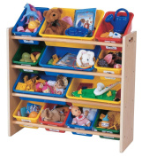 Tot Tutors Toy Organiser, Primary Colours