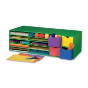 Book Shelf, Classroom Keeper, 3 Tiered, 43cm x50cm x25cm , Blue