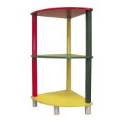 Kids 3-Tier Corner Shelf By ORE
