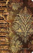 Small Elastic Closure Journal - Wood Carving