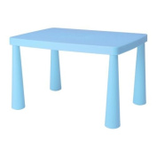 Ikea Mammut Blue Kid's Children's Table