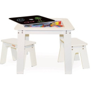 P'kolino Chalk Table, White