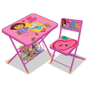 Nickelodeon Dora Activity Desk and Chair Set