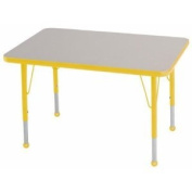 24x36 Rectangular Adjustable Activity Table