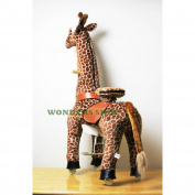Pony Cycle Ponycycle Walking Ride on Horse MEDIUM GIRAFFE Ride On Toy for 4-10 Years Old