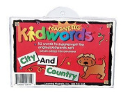Barker Creek LM-2610 Learning Magnets Kidwords - City and Country