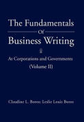 The Fundamentals Of Business Writing