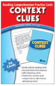 CONTEXT CLUES practise CARDS