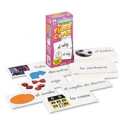 Carson-Dellosa Publishing CD3924 - Flash Cards, Everyday Words in Spanish