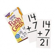 8 Pack TREND ENTERPRISES INC. FLASH CARDS ADDITION 13-18 99/BOX