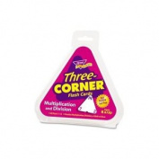 Quality Product By Trend Enterprises - 3 Corner Flash Card Multiply/Divide 14cm Triangular