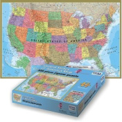 USA Map Jigsaw Puzzle 500 Pieces