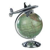 "Aeroplane and Globe Model ""On Top of the World"""