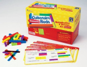 Cuisenaire Rods Multiplication/Division Classroom Kit