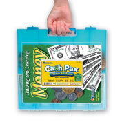 Learning Resources Cash Pax Money Briefcase Set with Book