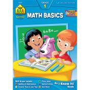 School Zone 2201 Math Basics 1 Workbook