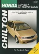 Honda Odyssey Automotive Repair Manual Chilton