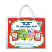 Carsondellosa Cdp-140004 Carson-dellosa Problem Solving Math Game - Math Word Problems