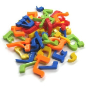 Megcos Magnetic Hebrew Letters (Set Of 31Pc) -Affordable Gift for your Little One! Item #LMID-1096H