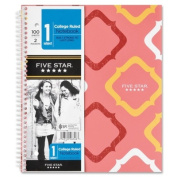 Notebook, 1 Sub, College Ruled, 100 Shts, 9-3/4 quot;x11 quot;, Multi