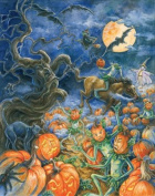 Advent Calendar (Halloween) - Party Countdown Calendar