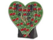 Velleman Flashing LED Sweetheart : MK101