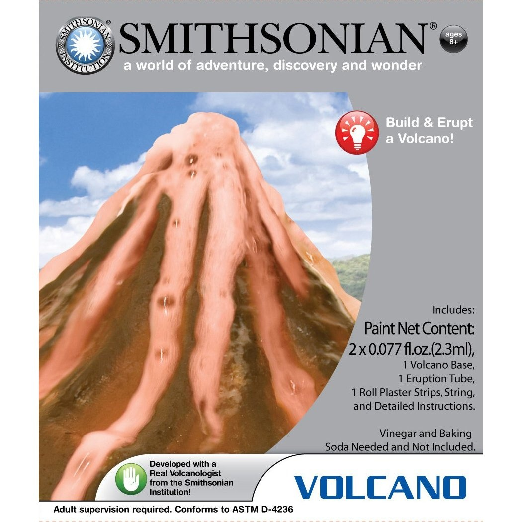 Smithsonian Micro Volcano Science Kit. NSI. Shipping Included