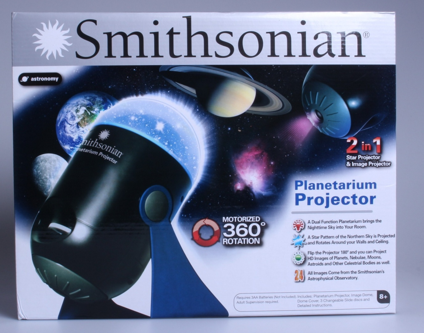 Smithsonian Optics Room Planetarium and Projector