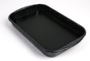 American Educational 7-351 Dissecting Pan - Enamel with Wax - 15.75 x 9.75 x 2