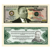 SET OF 10-Martin Luther King Jr Collectible Novelty Million Dollar Bills