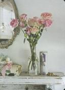 Shabby Chic Roses Mini Notebook
