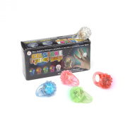 Gelstone Light-Up Rings - 1 ring, assorted colors