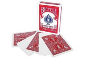 Bicycle Blank Face Red Back Magic Playing Cards