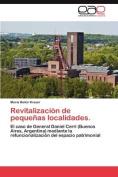 Revitalizacion de Pequenas Localidades. [Spanish]